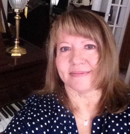 Darlene at piano, edited