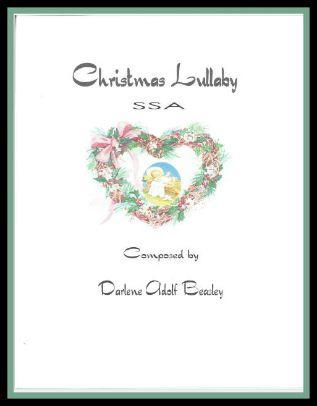 Christmas Lullaby SSA