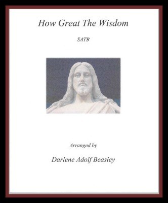 How Great The Wisdom Cover